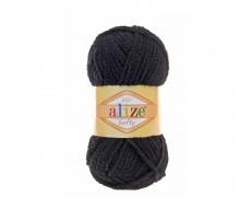 ALIZE Softy - 60 чорний