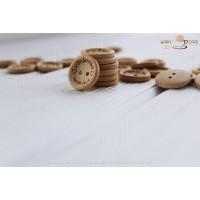 Ґудзики Handmade with love (дерево) 15 мм