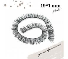 Вії для іграшок (чорні) 19*1 см