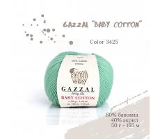 Gazzal Baby Cotton - 3425 м`ятний