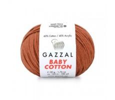 Gazzal Baby Cotton - 3454 світлий теракот