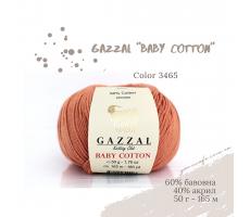 Gazzal Baby Cotton - 3465 темно-лососевий