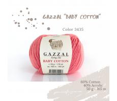 Gazzal Baby Cotton - 3435 лосось