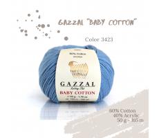 Gazzal Baby Cotton - 3423 блакитне небо