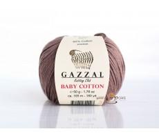 Gazzal Baby Cotton - 3434 какао