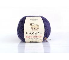 Gazzal Baby Cotton - 3440 фіолетовий