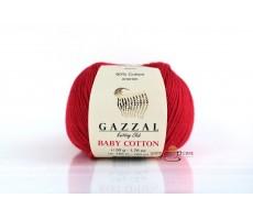 Gazzal Baby Cotton - 3443 червоний