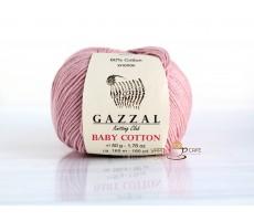 Gazzal Baby Cotton - 3444 рожева пудра
