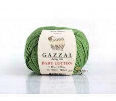 Gazzal Baby Cotton - 3448 світло-зелений