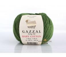 Gazzal Baby Cotton - 3449 зелений