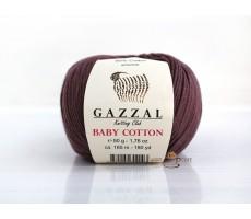 Gazzal Baby Cotton - 3455 кавовий