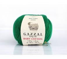 Gazzal Baby Cotton - 3456 смарагд