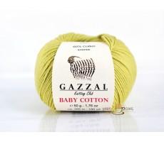 Gazzal Baby Cotton - 3457 салатовий