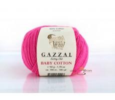 Gazzal Baby Cotton - 3461 малиновий неон