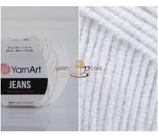 YarnArt JEANS - 01 білий