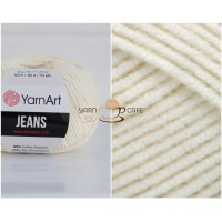 YarnArt JEANS - 03 молочный