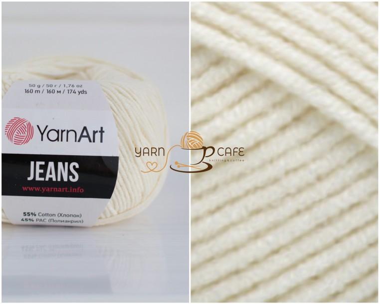 YarnArt JEANS - 03 молочний