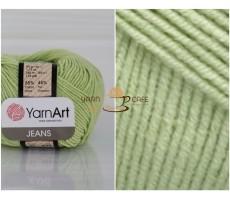 YarnArt JEANS - 11 світло-салатовий