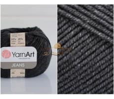 YarnArt JEANS - 28 чорний джинс