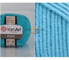 YarnArt JEANS - 33 бірюзовий