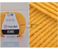YarnArt JEANS - 35 жовтий