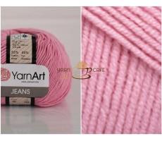 YarnArt JEANS - 36 рожевий