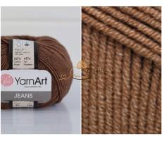 YarnArt JEANS - 40 коричневий