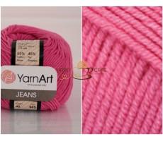 YarnArt JEANS - 42 яскраво-рожевий