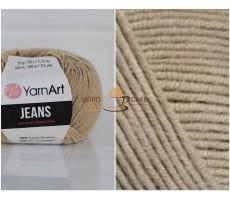 YarnArt JEANS - 48 пісочний (сіро-бежевий)