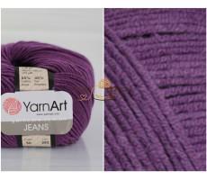 YarnArt JEANS - 50 фіолетовий
