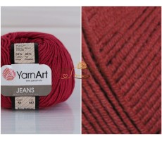 YarnArt JEANS - 51 бордовий