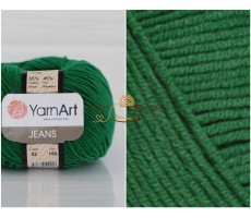 YarnArt JEANS - 52 смарагд