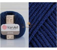 YarnArt JEANS - 54 темно-синій