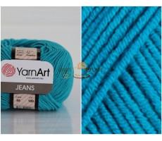 YarnArt JEANS - 55 темно-бірюзовий