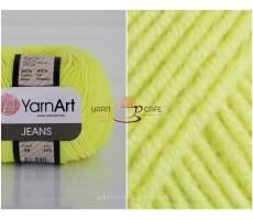 YarnArt JEANS - 58 салатовий неон