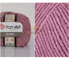 YarnArt JEANS - 65 суха троянда
