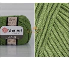 YarnArt JEANS - 69 зелений