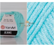 YarnArt JEANS - 76 світло-бірюзовий