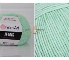 YarnArt JEANS - 79 м'ятний