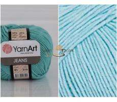 YarnArt JEANS - 81 бірюзовий меланж