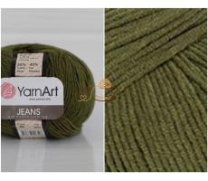 YarnArt JEANS - 82 хакі