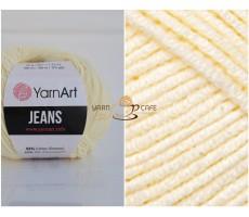 YarnArt JEANS - 86 кремовий