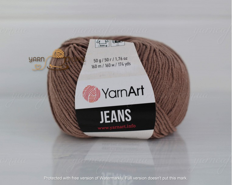 YarnArt JEANS - 71 какао