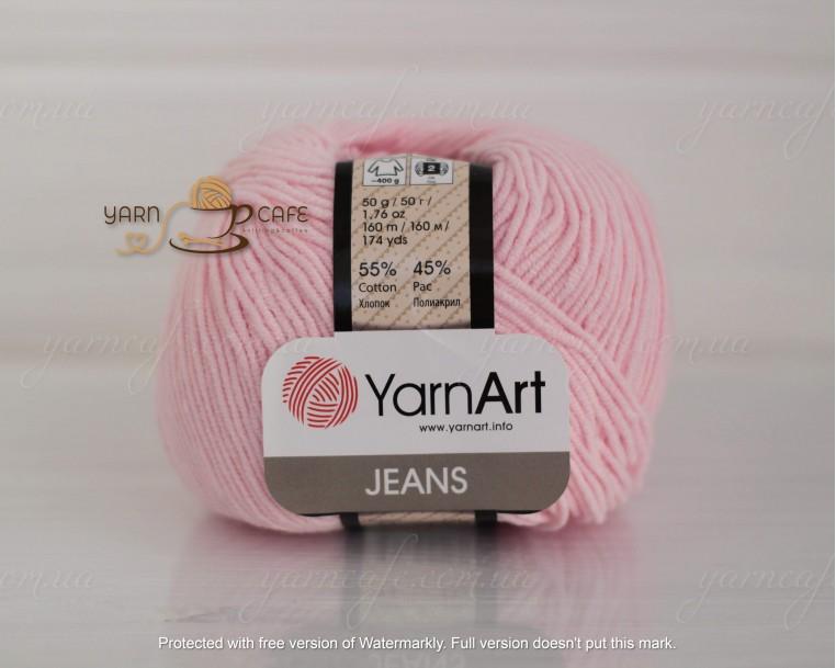 YarnArt JEANS - 74 ніжно-рожевий